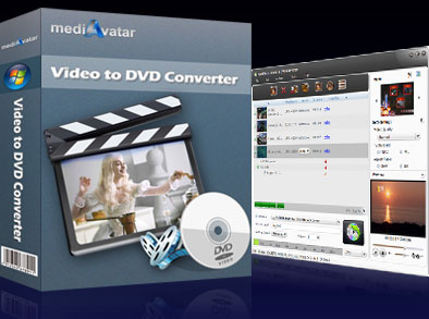 mediAvatar Video to DVD Converter